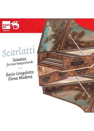Domenico Scarlatti: Sonatas for 2 Harpsichords (Music CD)