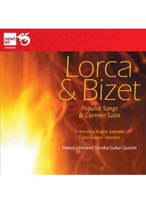 Lorca, Bizet: Popular Songs; Carmen (Music CD)
