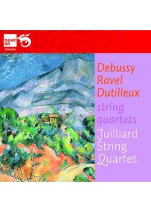 Debussy, Ravel, Dutilleux: Quartets (Music CD)