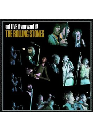 The Rolling Stones - Got Live If You Want It (Music CD)