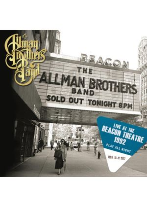 The Allman Brothers Band - Play All Night: Live at The Beacon Theatre 1992 (Music CD)