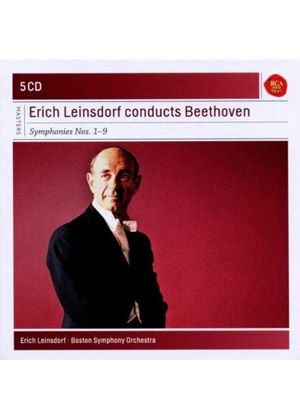 Erich Leinsdorf Conducts Beethoven Symphonies (Music CD)