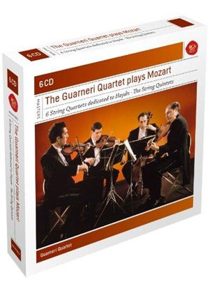 Guarneri Quartet Plays Mozart Quartets (Music CD)