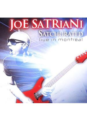 Joe Satriani - Satchurated (Live in Montreal/Live Recording) (Music CD)