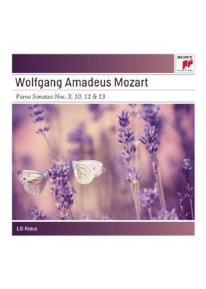 Mozart: 4 Piano Sonatas (Music CD)