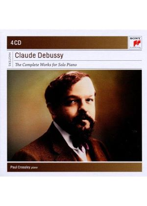 Debussy: The Complete Works for Solo Piano (Music CD)