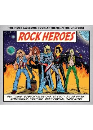 Various Artists - Rock Heroes (Music CD)