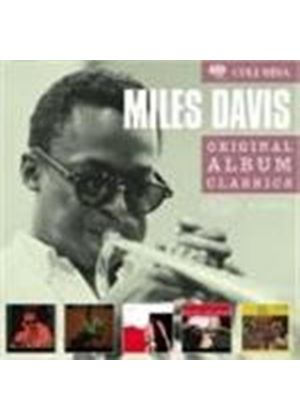 Miles Davis - Original Album Classics (Round About Midnight/Milestones/58 Sessions/Miles Ahead/Porgy And Bess) (5 CD Boxset) (Music CD)