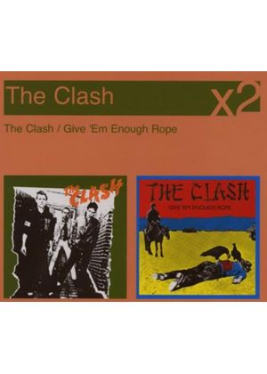 The Clash - The Clash/Give em Enough Rope (Music CD)