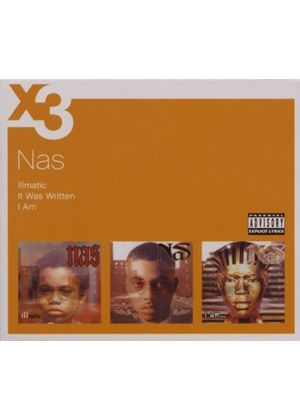 Nas - Illmatic/It Was Written/I Am (Music CD)