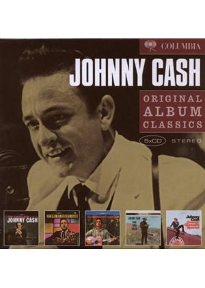 Johnny Cash - Original Album Classics (The Fabulous Johnny Cash/Songs Of Our Soil/Hymns By Johnny Cash/Ride This Train/Orange Blossom Special) (5 CD Boxset) (Music CD)