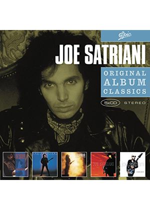Joe Satriani - Original Album Classics: Not of This Earth/Flying in a Blue Dream/the Extremist/Joesatriani/Crystal Planet (5 CD Boxset) (Music CD)