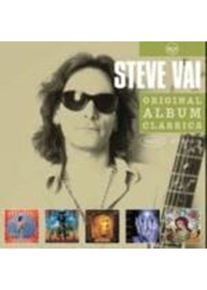 Steve Vai - Original Album Classics (Flex-Able/Passion & Warfare/Sex & Religion/Alien Love Secrets/Fire Garden) (5 CD Boxset) Music CD)