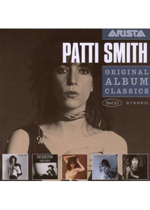 Patti Smith - Original Album Classics: Horses/Radio Ethiopia/Easter/Wave/Dream of Life (5 CD Boxset) (Music CD)