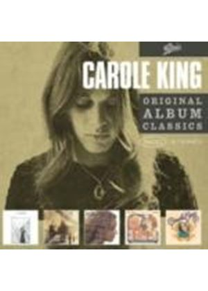 Carole King - Original Album Classics: Writer/Music/Fantasy/Rhymes & Reasons/Wrap Around Joy (5 CD Boxset) (Music CD)