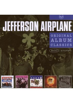 Jefferson Airplane - Original Album Classics (Jefferson Airplane Takes Off/Surrealistic Pillow/After Bathing At Baxters/Crown Of Creation/Bless Its Pointed Little Head) (5 CD Boxset) (Music CD)