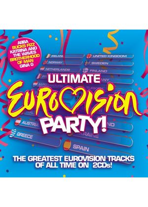 Various Artists - Ultimate Eurovision Party (Music CD)