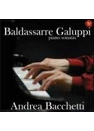 Galuppi: Keyboard Sonatas (Music CD)