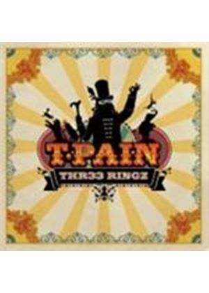 T-Pain - Thr33 Ringz (Music CD)
