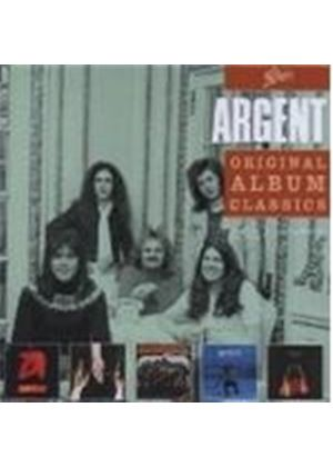Argent - ( 'Argent', 'Ring Of Hands', 'All Together Now', 'In Deep', 'Nexus') Original Album Classics (5 CD Box Set) (Music CD)