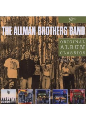 Allman Brothers Band - Original Album Classics (Seven Turns/Shades Of Two Worlds/An Evening With The Allman Brothers/Where It All Beg...) (5 CD Box Set) (Music CD)