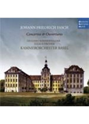 Fasch: Concertos and Overtures (Music CD)