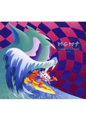 MGMT - Congratulations (Music CD)