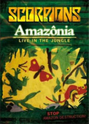 Scorpions: Amazonia - Live in the Jungle (Music DVD)