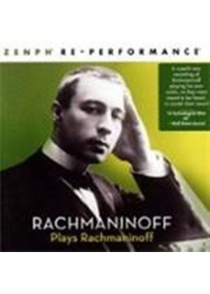 Rachmaninov Plays Rachmaninov (Music CD)