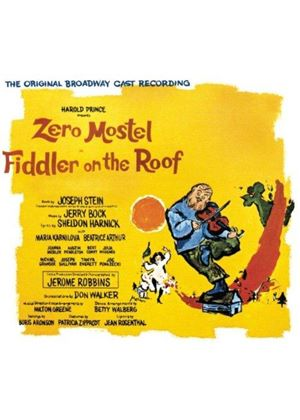 Soundtrack - Fiddler on the Roof [Original Broadway Cast Recording] (Live Recording) (Music CD)