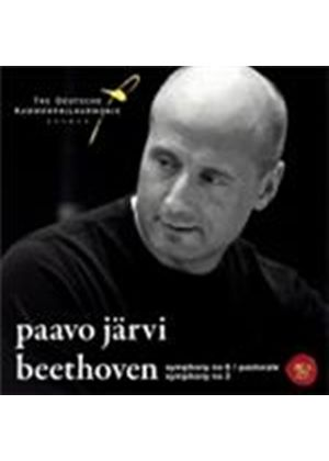 Beethoven: Symphonies Nos 2 and 6 \\\'Pastoral\\\' (Music CD)