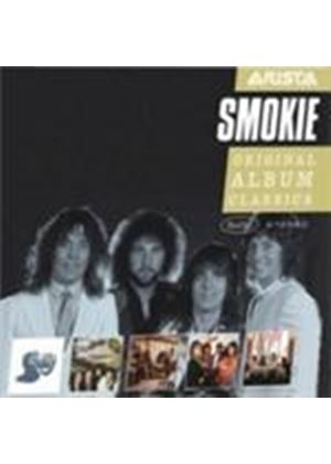 Smokie - Original Album Classics (Pass It Around/Changing All The Time/Midnight Cafe/Bright Lights And Back Alleys/The ..) (Music CD)