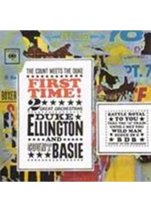 Duke Ellington & Count Basie - First Time (The Count Meets The Duke) (Music CD)