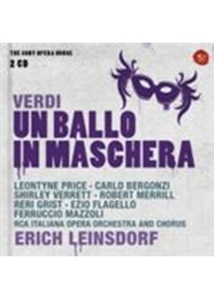 Verdi: (Un) Ballo in Maschera (Music CD)