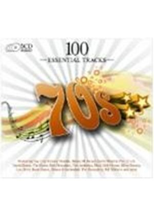 Various Artists - 100 Essential Hits Of The 70s (Music CD)