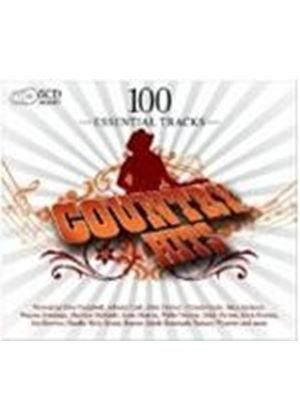 Various Artists - 100 Essential Country Hits (Music CD)