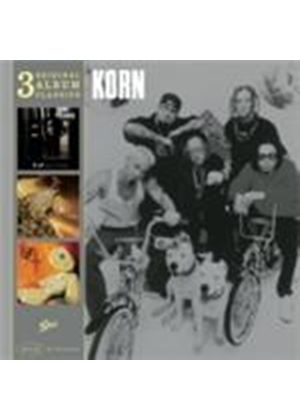 Korn - Original Album Classics (Life Is Peachy/Follow the Leader/Issues) Music CD)