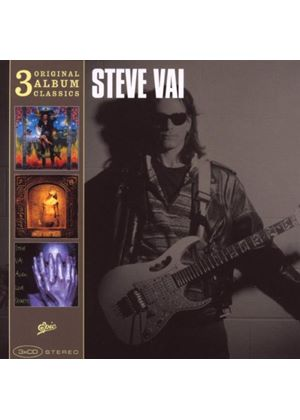 Steve Vai - Original Album Classics (Passion And Warfare/Sex And Religion/Alien Love Secrets) (Music CD)