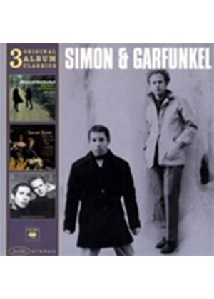 Simon And Garfunkel - Original Album Classics (Sounds Of Silence/Parsley Sage Rosemary And Thyme/Bookends) (Music CD)