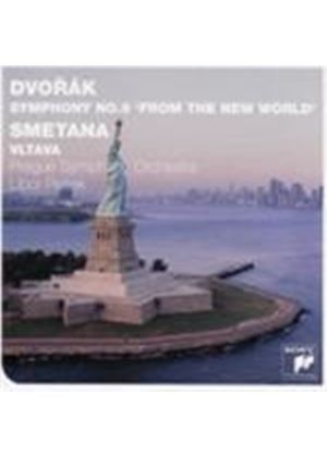 Dvorak: New World Symphony; Smetana: Ma Vlast (Music CD)