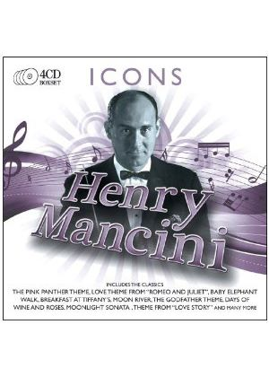 Henry Mancini - Icons (4 CD) (Music CD)