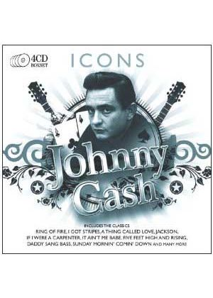 Johnny Cash - Icons (4 CD) (Music CD)