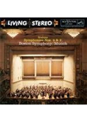Brahms: Symphonies Nos.2 & 4 (Music CD)