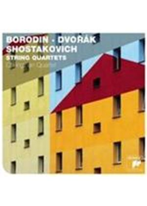 Borodin, Dvorak; Shostakovich: String Quartets (Music CD)