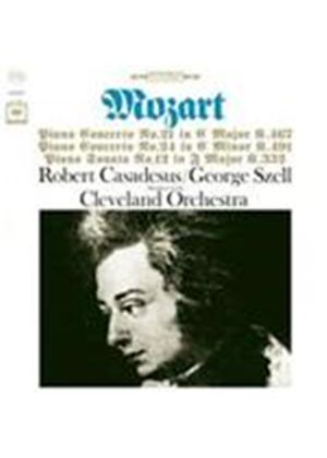 Mozart: Piano Concertos No.21, 24 & Piano Sonata No.12 (Music CD)