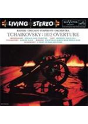 Tchaikovsky: Overture Solennelle 1812; Marche Slave (Music CD)