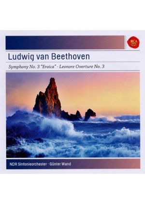 """Beethoven: Symphony No. 3 """"Eroica""""; Leonore Overture No. 3 (Music CD)"""