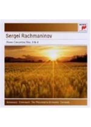 Rachmaninoff: Piano Concertos Nos. 3 & 4 (Music CD)