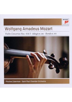 Mozart: Violin Concertos Nos. 4 & 5 (Music CD)