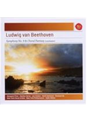 Ludwig van Beethoven: Symphony No. 9 & Choral Fantasy (Conclusion) (Music CD)